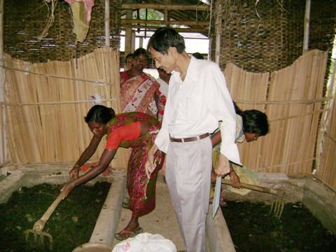 Mushroom Production Programme - Ramakrishna Mission